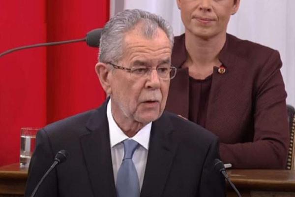 ავსტრიის პრეზიდენტი კარანტინის რეჟიმის დარღვევის გამო ბოდიშს იხდის