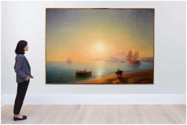 აივაზოვსკის ცნობილი ტილო Sotheby's აუქციონზე £2,9 მილიონად გაიყიდა