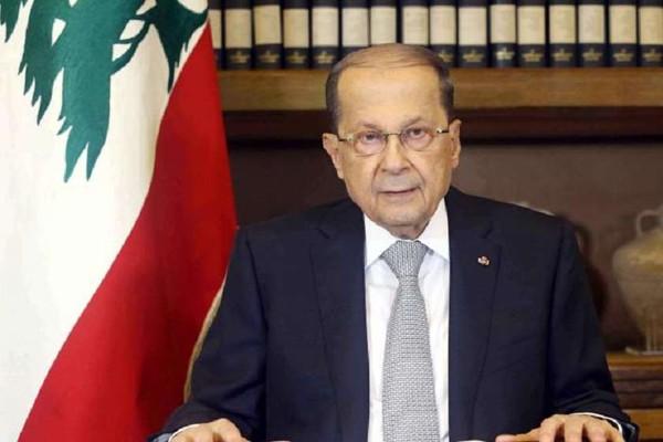 ლიბანის პრეზიდენტი ბეირუთში მომხდარ აფეთქებასთან გარე ძალების კავშირს არ გამორიცხავს