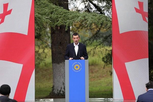 """გიორგი გახარია: """"ქართული ოცნება"""" გაიმარჯვებს სამართლიან ბრძოლაში და ეს გამარჯვება არ იქნება ერთი პარტიის გამარჯვება, ეს იქნება ქვეყნის გამარჯვება"""