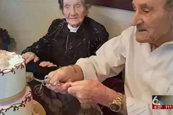აშშ-ში 100 წელს გადაცილებულმა წყვილმა ქორწინების 85 წლის იუბილე აღნიშნა