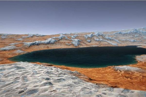 მეცნიერებმა მარსის ზედაპირის ქვეშ ტბების სისტემა აღმოაჩინეს