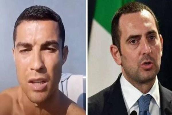 რონალდუ და იტალიის სპორტის მინისტრი ერთმანეთს ტყუილში ადანაშაულებენ