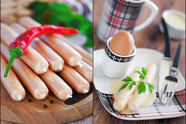 სახლში მომზადებული სოსისები -ჯანსაღი და გემრიელი