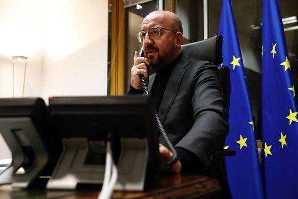 შარლ მიშელმა ჯო ბაიდენი 2021 წელს ევროკავშირის სპეციალურ სამიტზე მიიწვია