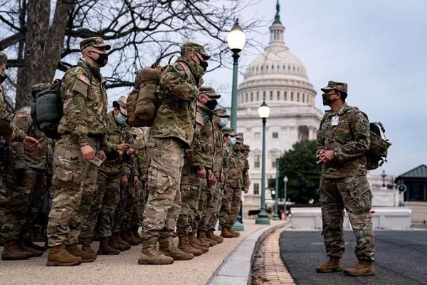 ჯო ბაიდენის ინაუგურაციის გამო, ვაშინგტონში ეროვნული გვარდიის 15 ათასამდე სამხედრო მოსამსახურე განთავსდება