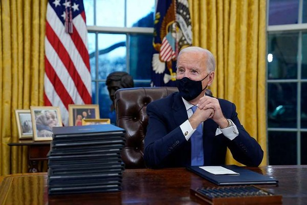 ჯო ბაიდენის განკარგულებით, აშშ ჯანდაცვის მსოფლიო ორგანიზაციასა და კლიმატის შესახებ პარიზის შეთანხმებაში ბრუნდება