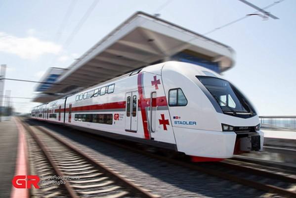 მატარებლები მაგისტრალურ მიმართულებებზე მოძრაობას 27 თებერვლიდან განაახლებენ