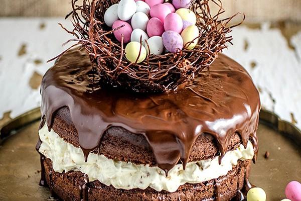შოკოლადის სააღდგომო ნამცხვარი