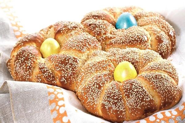 ბერძნული სააღდგომო პური