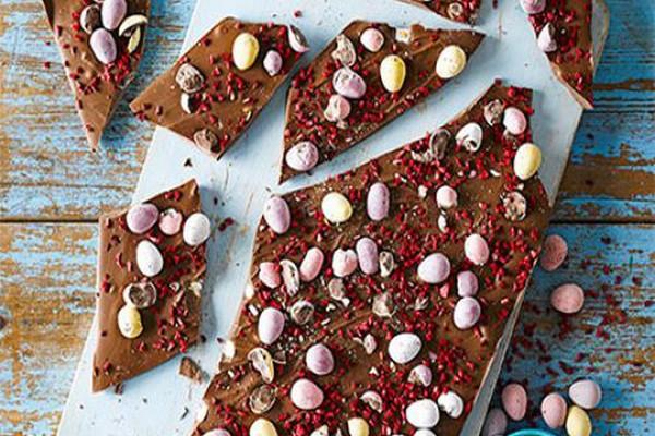 სააღდგომო შოკოლადის ფილა