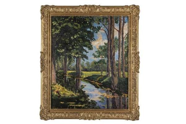 უინსტონ ჩერჩილის კიდევ ერთი ნახატი აუქციონზე გაიყიდება