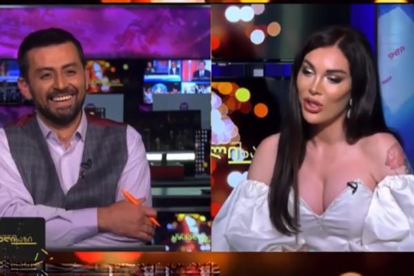 პირდაპირ ეთერში სიცილი ვერავინ შეიკავა - რა თქვა კესარია აბრამიძემ ლევან ვასაძეზე? (ვიდეო)