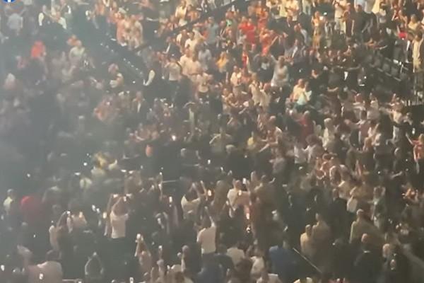 ხალხის რეაქცია როცა დონალდ ტრამპი გამოჩნდა UFC 264 ზე (ვიდეო)