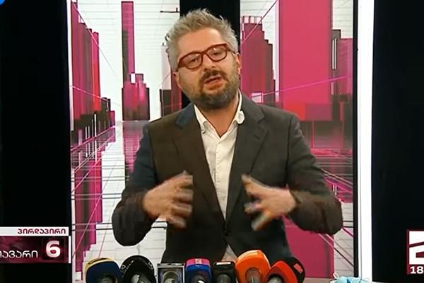 ლევან ნიკოლეიშვილი: მართლა მაინტერესებს ახლა რომ ჟურნალისტურ საქმიანობას უბრუნდებით, მანამდე პოლიტიკით იყავით დაკავებული თუ მავნებლობით (ვიდეო)