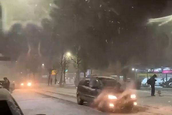 ბრაზილიაში თოვლი მოვიდა  (ვიდეო)