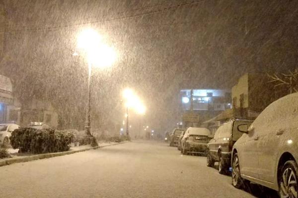 ბრაზილიის ათობით ქალაქში თოვლი მოვიდა