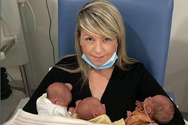 ბრიტანეთში ქალმა 11 თვეში 4 ბავშვი გააჩინა