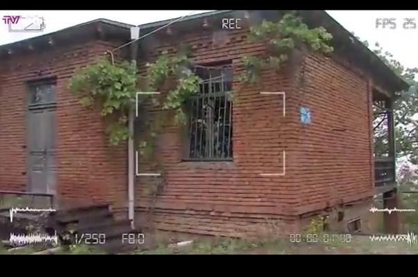 აი, აქ იმალებოდნენ ნიკო კვარაცხელიას მკვლელები - ექსკლუზიური კადრები წყნეთის აგარაკიდან (ვიდეო)