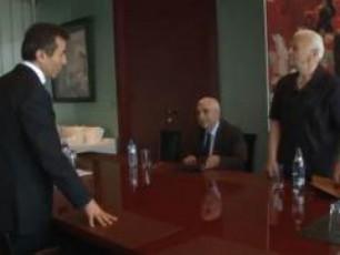 biZina-ivaniSvilis-Sexvedra-veteranebTan-VIDEO