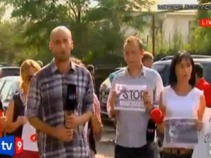 zugdidSi-axalaias-StabTan-Jurnalistebis-aqcia-mimdinareobsVIDEO