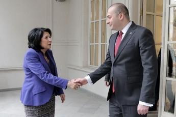 saqarTvelos-prezidentisa-da-premier-ministris-pirveli-samuSao-Sexvedra-gaimarTa