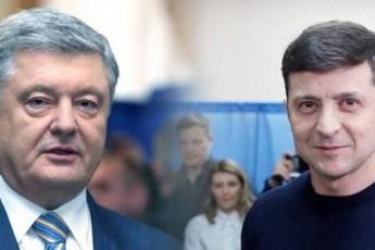 ukrainaSi-axali-retingi-dades---komikosi-zelenski-prezident-poroSenkos-ukve-30-iT-uswrebs
