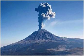 meqsikaSi-vulkani-popokatepetli-amoifrqva