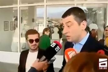 მთავარი სექტა აცხადებს, რომ გიორგი გახარია მათ ჟურნალისტს თავს დაესხა (ვიდეო)