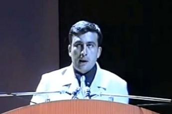 """""""წავკარი წკიპურტი და გადავაგდე, ერთი ბებერი მელა იყოო… აი, ნახეთ, რას ამბობს შევარდნაძეზე – (ვიდეო)"""