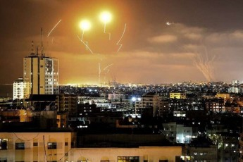 teroristulma-dajgufebebma-Razas-seqtoridan-israelis-mimarTulebiT-150-ze-meti-raketa-gauSves