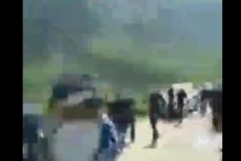 რიონის ხეობის მცველები და პოლიცია ერთმანეთს დაუპირისპირდა (ვიდეო)