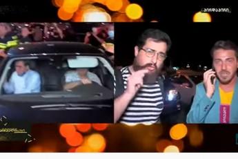 gauTvaliswinebeli-CarTva-TV-pirvelze-video