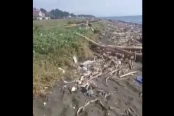 TurqeTis-wyaldidobis-narCenebi-da-nagavi-zRvam-saqarTvelos-kurortebze-gamoriya-video